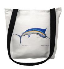Blue Marlin Tote Bag | Betsy Drake | TY015M