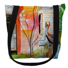Betsy's Pelican Tote Bag | Betsy Drake | TY036M