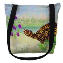 Turtle and Berries Tote Bag | Betsy Drake | TY038M