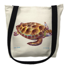 Green Sea Turtle Tote Bag | Betsy Drake | TY044M