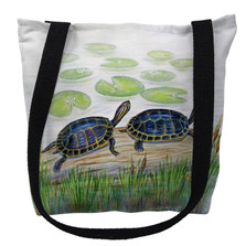 Two Turtles Tote Bag | Betsy Drake | TY045M