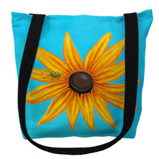 Black-Eyed Susan Flower Tote Bag | Betsy Drake | TY047M