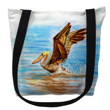 Flying Pelican Tote Bag | Betsy Drake | TY050PM