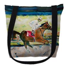 Racing Horse Tote Bag | Betsy Drake | TY055M