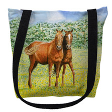 Two Horses Tote Bag | Betsy Drake | TY057M