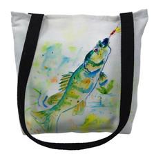 Yellow Perch Fish Tote Bag | Betsy Drake | TY064M
