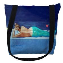 Mermaid Tote Bag   Betsy Drake   TY073M