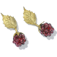 Raspberry Earrings | Michael Michaud Jewelry | SS4089bzgn