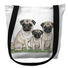 Pugs Tote Bag | Betsy Drake | TY077M