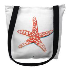 Coral Starfish Tote Bag | Betsy Drake | TY091M
