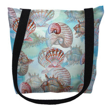 Shells Pattern Tote Bag | Betsy Drake | TY094AM