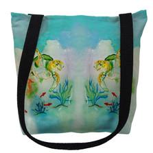 Betsy's Sea Turtles Tote Bag | Betsy Drake | TY098M