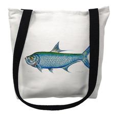 Tarpon Fish Tote Bag | Betsy Drake | TY111M