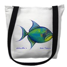 Trigger Fish Tote Bag | Betsy Drake | TY114M