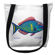 Parrot Fish Tote Bag | Betsy Drake | TY115M