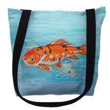 Koi Fish Tote Bag | Betsy Drake | TY117M