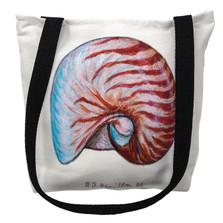 Nautilus Shell Tote Bag | Betsy Drake | TY118M