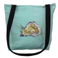 Oyster Shell Aqua Tote Bag | Betsy Drake | TY121CM