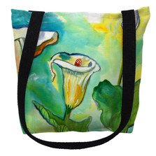 Jack-in-the-Pulpit Flower Tote Bag | Betsy Drake | TY123M