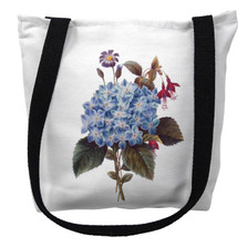 Blue Hydrangea Flower Tote Bag | Betsy Drake | TY127M