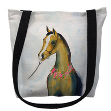 Horse and Garland Tote Bag | Betsy Drake | TY132M