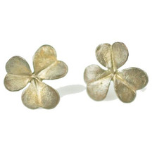 Clover Post Earrings | Michael Michaud Jewelry | SS4109bz