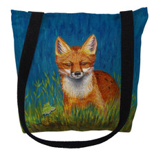 Red Fox Tote Bag | Betsy Drake | TY139M