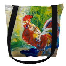 Red Rooster Tote Bag | Betsy Drake | TY144M