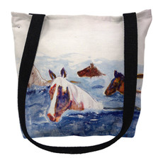 Chincoteague Ponies Tote Bag | Betsy Drake | TY151M