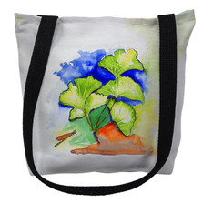 Ginkgo Leaves Tote Bag   Betsy Drake   TY152M