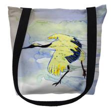 Yellow Crane Tote Bag | Betsy Drake | TY163M