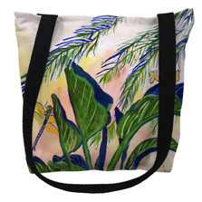 Elephant Ear Leaves Tote Bag | Betsy Drake | TY175M