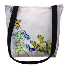 Turtles and Butterfly Tote Bag | Betsy Drake | TY178M