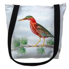 Green Heron Tote Bag | Betsy Drake | TY180M
