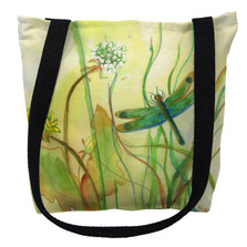 Betsy's Dragonfly Tote Bag | Betsy Drake | TY187M