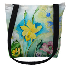 Betsy's Florals Tote Bag | Betsy Drake | TY194M