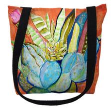 Watercolor Cactus Tote Bag | Betsy Drake | TY754M