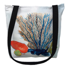 Coral and Shells Tote Bag | Betsy Drake | TY1070M