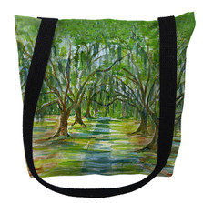 Trees with Spanish Moss Tote Bag   Betsy Drake   TY1061M