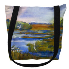 Marsh Scene Tote Bag | Betsy Drake | TY1060M