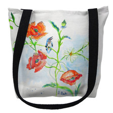 Poppies and Daisies Tote Bag | Betsy Drake | TY1051M