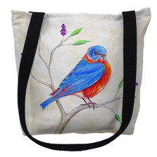Dick's Blue Bird Tote Bag | Betsy Drake | TY1050M