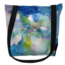 Three Egrets Tote Bag | Betsy Drake | TY1047M