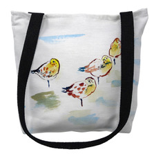 Four Sanderlings Tote Bag | Betsy Drake | TY1044M
