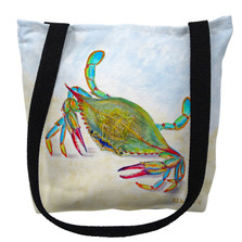 More than Blue Crab Tote Bag | Betsy Drake | TY1026M