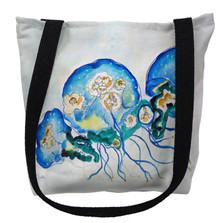 Multi Jellyfish Tote Bag | Betsy Drake | TY1020M