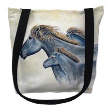 Wild Horses Tote Bag | Betsy Drake | TY1019M