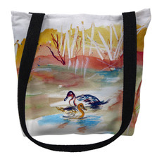 Redhead Ducks Pair Tote Bag | Betsy Drake | TY1016M