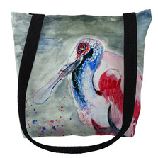 Amelia Spoonbill Tote Bag | Betsy Drake | TY1015M