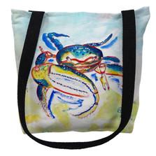 Fiddler Crab Tote Bag | Betsy Drake | TY1013M